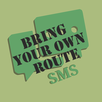 Bring your own route sms